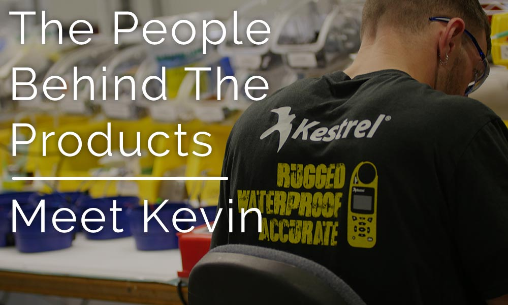 People Behind the Products: Meet Kevin