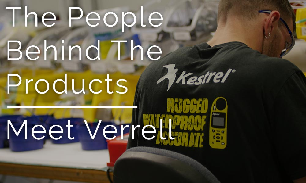 People Behind the Products: Meet Verrell